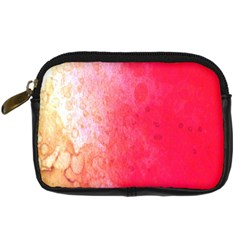 Abstract Red And Gold Ink Blot Gradient Digital Camera Cases by Amaryn4rt