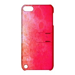 Abstract Red And Gold Ink Blot Gradient Apple Ipod Touch 5 Hardshell Case With Stand by Amaryn4rt