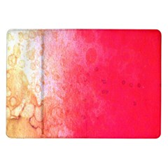 Abstract Red And Gold Ink Blot Gradient Samsung Galaxy Tab 10 1  P7500 Flip Case by Amaryn4rt