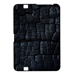 Black Burnt Wood Texture Kindle Fire Hd 8 9  by Amaryn4rt