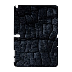 Black Burnt Wood Texture Galaxy Note 1 by Amaryn4rt