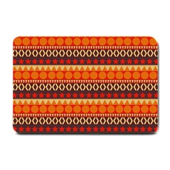 Abstract Lines Seamless Art  Pattern Small Doormat  by Amaryn4rt