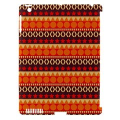 Abstract Lines Seamless Art  Pattern Apple Ipad 3/4 Hardshell Case (compatible With Smart Cover) by Amaryn4rt