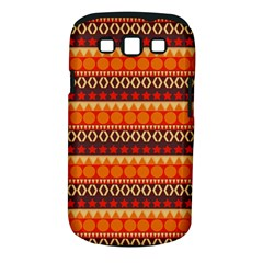 Abstract Lines Seamless Art  Pattern Samsung Galaxy S Iii Classic Hardshell Case (pc+silicone) by Amaryn4rt