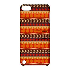 Abstract Lines Seamless Art  Pattern Apple Ipod Touch 5 Hardshell Case With Stand by Amaryn4rt