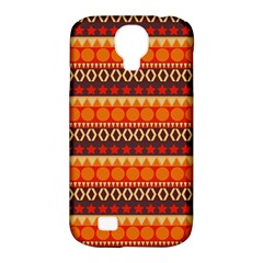 Abstract Lines Seamless Art  Pattern Samsung Galaxy S4 Classic Hardshell Case (pc+silicone) by Amaryn4rt