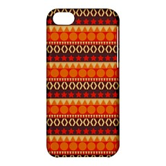 Abstract Lines Seamless Art  Pattern Apple Iphone 5c Hardshell Case by Amaryn4rt