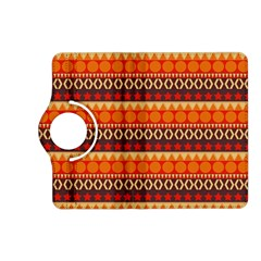 Abstract Lines Seamless Art  Pattern Kindle Fire Hd (2013) Flip 360 Case by Amaryn4rt