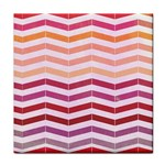 Abstract Vintage Lines Face Towel Front
