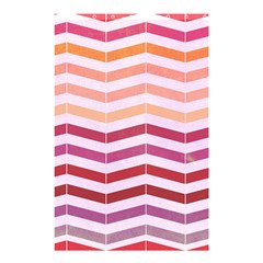 Abstract Vintage Lines Shower Curtain 48  X 72  (small)
