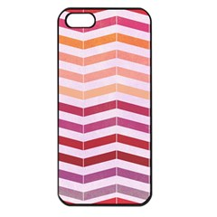 Abstract Vintage Lines Apple Iphone 5 Seamless Case (black) by Amaryn4rt