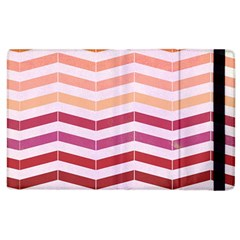 Abstract Vintage Lines Apple Ipad 3/4 Flip Case by Amaryn4rt