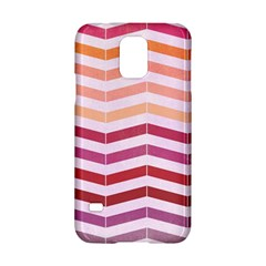 Abstract Vintage Lines Samsung Galaxy S5 Hardshell Case  by Amaryn4rt