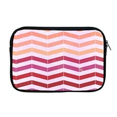 Abstract Vintage Lines Apple Macbook Pro 17  Zipper Case by Amaryn4rt
