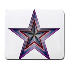 Star Abstract Geometric Art Large Mousepads