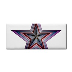 Star Abstract Geometric Art Cosmetic Storage Cases by Amaryn4rt