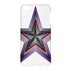 Star Abstract Geometric Art Apple Ipod Touch 5 Hardshell Case by Amaryn4rt