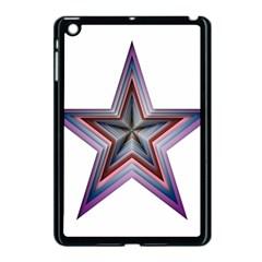 Star Abstract Geometric Art Apple Ipad Mini Case (black) by Amaryn4rt
