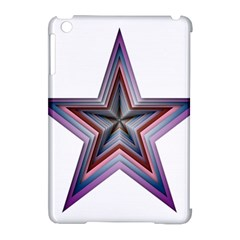 Star Abstract Geometric Art Apple Ipad Mini Hardshell Case (compatible With Smart Cover) by Amaryn4rt