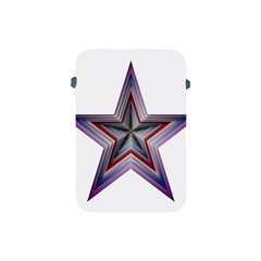 Star Abstract Geometric Art Apple Ipad Mini Protective Soft Cases by Amaryn4rt