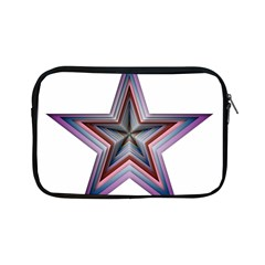 Star Abstract Geometric Art Apple Ipad Mini Zipper Cases by Amaryn4rt