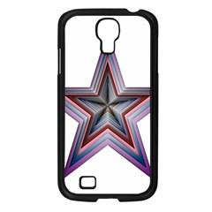 Star Abstract Geometric Art Samsung Galaxy S4 I9500/ I9505 Case (black) by Amaryn4rt