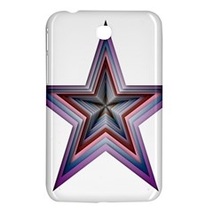 Star Abstract Geometric Art Samsung Galaxy Tab 3 (7 ) P3200 Hardshell Case  by Amaryn4rt