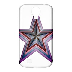 Star Abstract Geometric Art Samsung Galaxy S4 Classic Hardshell Case (pc+silicone)