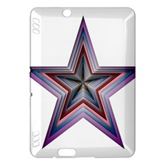Star Abstract Geometric Art Kindle Fire Hdx Hardshell Case by Amaryn4rt
