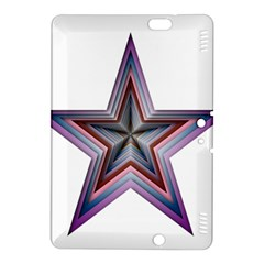Star Abstract Geometric Art Kindle Fire Hdx 8 9  Hardshell Case by Amaryn4rt