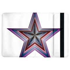 Star Abstract Geometric Art Ipad Air 2 Flip by Amaryn4rt