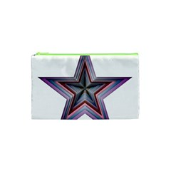 Star Abstract Geometric Art Cosmetic Bag (xs) by Amaryn4rt