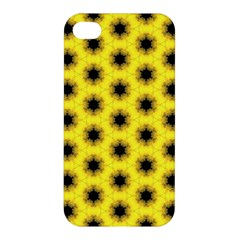 Yellow Fractal In Kaleidoscope Apple Iphone 4/4s Hardshell Case by Amaryn4rt