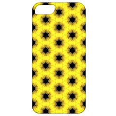 Yellow Fractal In Kaleidoscope Apple Iphone 5 Classic Hardshell Case by Amaryn4rt