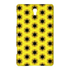 Yellow Fractal In Kaleidoscope Samsung Galaxy Tab S (8 4 ) Hardshell Case  by Amaryn4rt