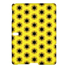 Yellow Fractal In Kaleidoscope Samsung Galaxy Tab S (10 5 ) Hardshell Case  by Amaryn4rt
