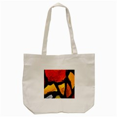 Colorful Glass Mosaic Art And Abstract Wall Background Tote Bag (cream) by Amaryn4rt