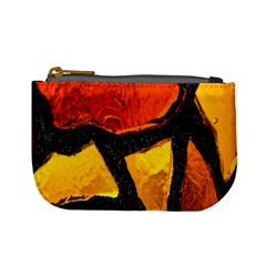 Colorful Glass Mosaic Art And Abstract Wall Background Mini Coin Purses by Amaryn4rt