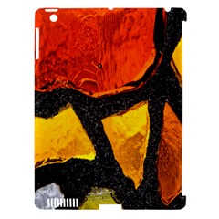 Colorful Glass Mosaic Art And Abstract Wall Background Apple Ipad 3/4 Hardshell Case (compatible With Smart Cover) by Amaryn4rt