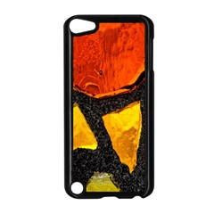 Colorful Glass Mosaic Art And Abstract Wall Background Apple Ipod Touch 5 Case (black) by Amaryn4rt