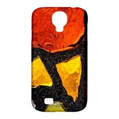 Colorful Glass Mosaic Art And Abstract Wall Background Samsung Galaxy S4 Classic Hardshell Case (PC+Silicone)