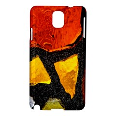 Colorful Glass Mosaic Art And Abstract Wall Background Samsung Galaxy Note 3 N9005 Hardshell Case by Amaryn4rt