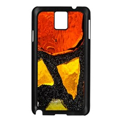 Colorful Glass Mosaic Art And Abstract Wall Background Samsung Galaxy Note 3 N9005 Case (black) by Amaryn4rt
