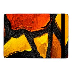 Colorful Glass Mosaic Art And Abstract Wall Background Samsung Galaxy Tab Pro 10 1  Flip Case by Amaryn4rt