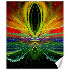 Future Abstract Desktop Wallpaper Canvas 20  X 24   by Amaryn4rt