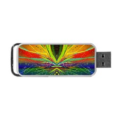 Future Abstract Desktop Wallpaper Portable Usb Flash (two Sides) by Amaryn4rt