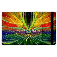 Future Abstract Desktop Wallpaper Apple Ipad 2 Flip Case by Amaryn4rt