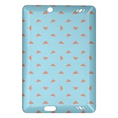 Spaceship Cartoon Pattern Drawing Amazon Kindle Fire Hd (2013) Hardshell Case by dflcprints