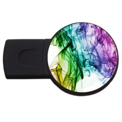 Colour Smoke Rainbow Color Design Usb Flash Drive Round (2 Gb) by Amaryn4rt