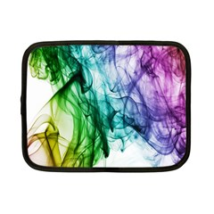 Colour Smoke Rainbow Color Design Netbook Case (small)  by Amaryn4rt